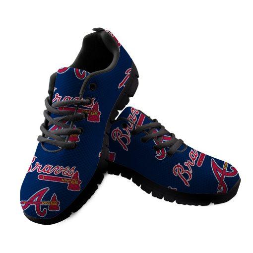 Atlanta Braves Custom Running Sneakers