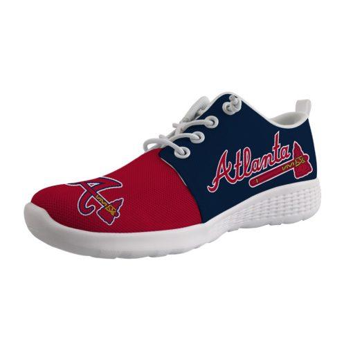 Atlanta Braves Custom Sport Sneakers
