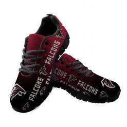 Atlanta Falcons Custom 3D Print Running Sneakers