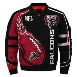 Atlanta Falcons Fans Bomber Jacket Men Women