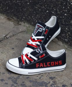 Atlanta Falcons Limited Low Top Canvas Sneakers