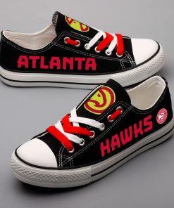 Atlanta Hawks Limited Low Top Canvas Shoes Sport