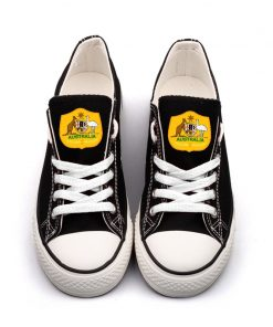 Australia National Team Low Top Canvas Sneakers