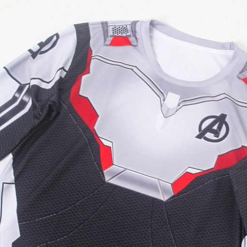 Avengers Endgame Realm Cosplay Top 3D  T-Shirt