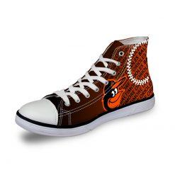 Baltimore Orioles Casual Canvas Shoes Sport