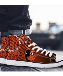 Baltimore Orioles Casual Canvas Shoes Sport