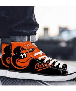 Baltimore Orioles 3D Lace-Up Sneakers