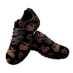 Baltimore Orioles Custom 3D Running Sneakers