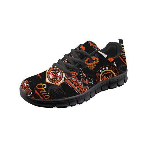 Baltimore Orioles Flats Adults Casual Shoes Sports