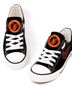 Baltimore Orioles Low Top Canvas Shoes Sport