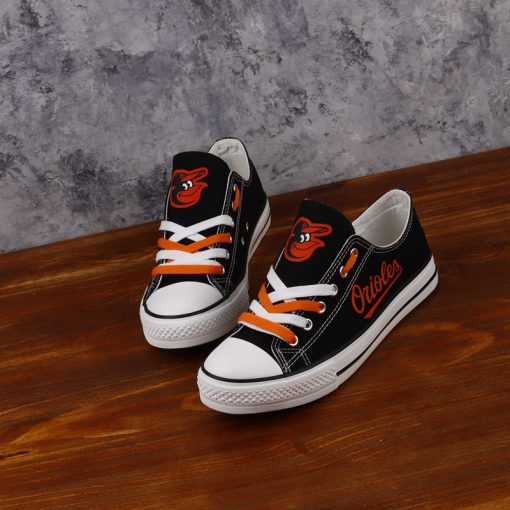 Baltimore Orioles Limited Low Top Canvas Shoes Sport