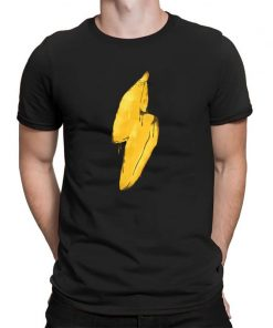 Banana lighting Mens Workout Shirts Kansas City Chiefs Jersey T Shirt Men Streetwear Shirt Men