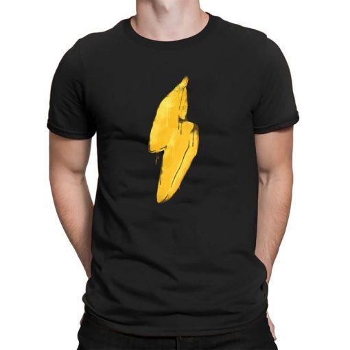 Banana lighting Mens Workout Shirts Kansas City Chiefs Jersey T Shirt Men Streetwear Shirt Men