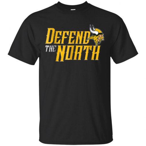 Black T Shirt Minnesota Defend The North T Shirt for Men Cool Casual pride t shirt