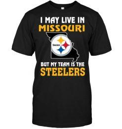 Born A Steelers Fan Just Like My Mommy T Shirt