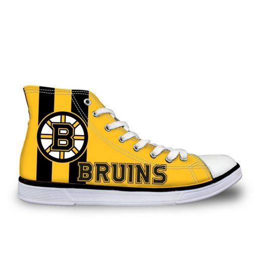 Boston Bruins Lace-Up Shoes Sport