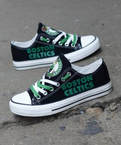 Boston Celtics Limited Low Top Canvas Shoes Sport