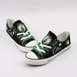 Boston Celtics Limited Low Top Canvas Sneakers