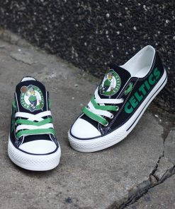 Celtics Limited Low Top Canvas Sneakers
