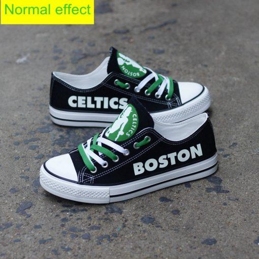 Boston Celtics Limited Luminous Low Top Canvas Sneakers