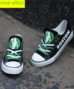 Boston Celtics Limited Luminous Low Top Canvas Sneakers
