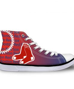 Boston Red Sox 3D Lace-Up Sneakers