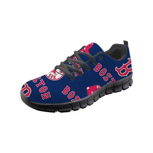 Boston Red Sox Custom 3D Running Sneakers