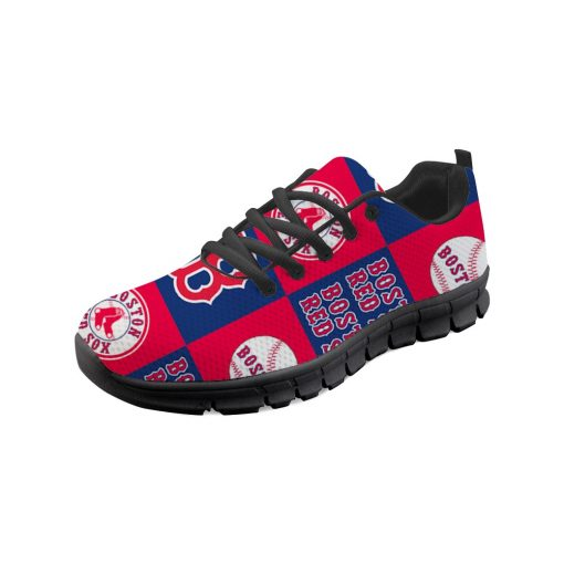 Boston Red Sox Flats Adults Casual Shoes Sports