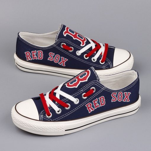 Boston Red Sox Limited Low Top Canvas Sneakers