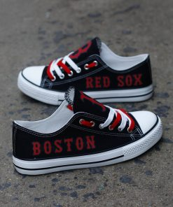 Boston Red Sox Limited Low Top Canvas Shoes Sport