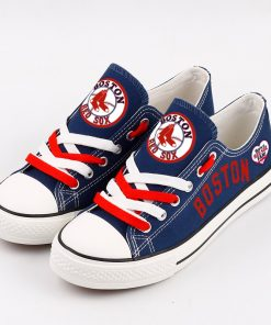 Boston Red Sox Limited Fans Low Top Canvas Sneakers