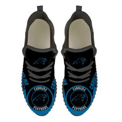 Men Women Running Shoes Customize Carolina Panthers