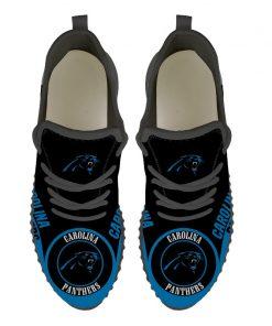 Men Women Running Shoes Customize Carolina Panthers