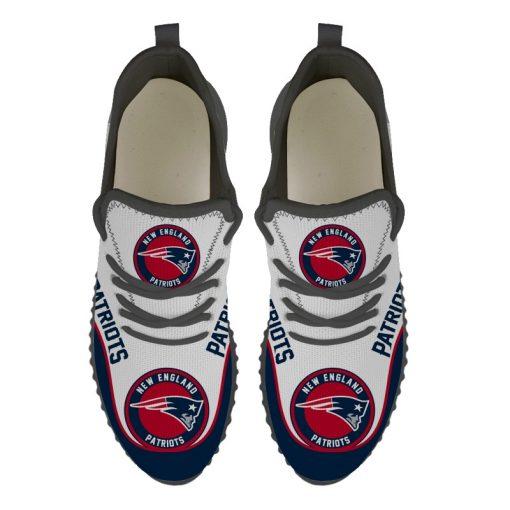 Men Women Running Shoes Customize New England Patriots