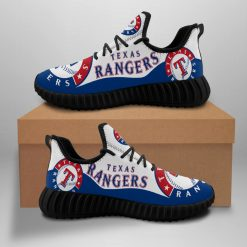 Men Women Running Shoes Customize Texas Rangers