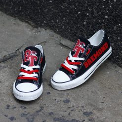 Bremond Tigers Limited High School Students Low Top Canvas Sneakers
