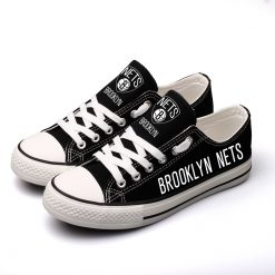 Brooklyn Nets Limited Low Top Canvas Sneakers