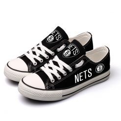 Brooklyn Nets Limited Low Top Canvas Shoes Sport