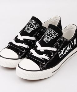 Brooklyn Nets Low Top Canvas Shoes Sport