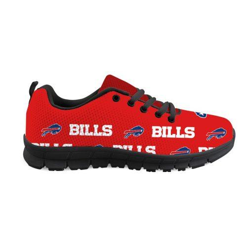 Buffalo Bills Custom 3D Print Running Sneakers