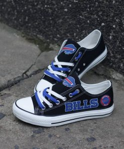 Buffalo Bills Limited Print Low Top Canvas Shoes Sport