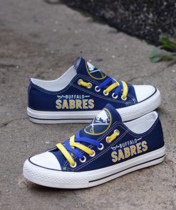 Buffalo Sabres Limited Low Top Canvas Sneakers
