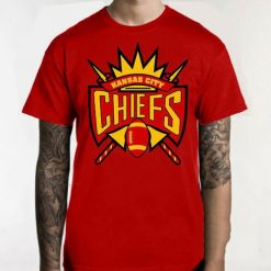 CHIEFS KC KANSAS CITY T Shirt FOOTBALL 816 NICE K4 Streetwear Harajuku Leisure Tee Shirt