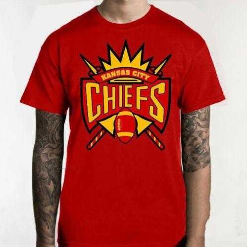 CHIEFS KC KANSAS CITY T Shirt FOOTBALL 816 NICE K4 Streetwear Harajuku Leisure Tee Shirt