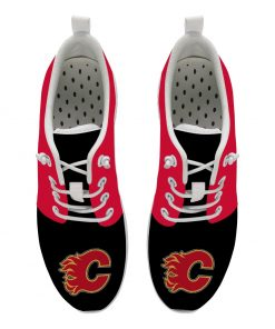 Calgary Flames Custom Shoes Sport