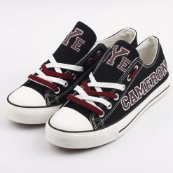 Cameron Yoemen Limited High School Students Low Top Canvas Sneakers