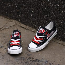 Carolina Hurricanes Limited Fans Low Top Canvas Sneakers