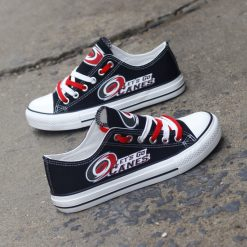 Carolina Hurricanes Limited Fans Low Top Canvas Shoes Sport