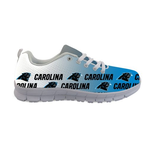 Carolina Panthers Custom 3D Print Running Sneakers