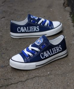 Cavaliers Limited High School Students Low Top Canvas Sneakers